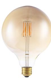 E26 LED-glødepærer G125 4 leds COB Mulighet for demping Varm hvit 300lm 2700K AC 110-130V
