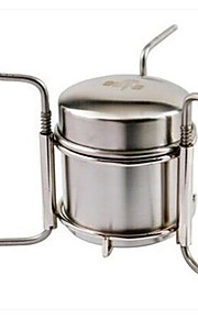 Stove Single Stainless Steel for Camping Picnic BBQ Hiking Outdoor