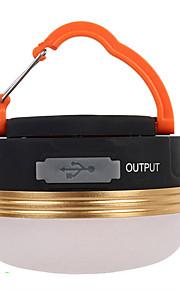 Lanterner & Telt Lamper LED Lumen 3 Tilstand LED Genopladelig Komapkt Størrelse Nemt at bære Trådløs Camping/Vandring/Grotte Udforskning