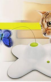 Kattelegetøj Kæledyrslegetøj Interaktivt Teasers Elektronisk Sommerfugl