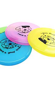 Discos Voadores Desenho Animado Prato Plástico Para Cachorro Brinquedo Para Cachorro