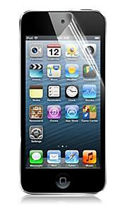Protector de pantalla Apple para iTouch 5/6 PET 5 piezas Protector de Pantalla Frontal Ultra Delgado