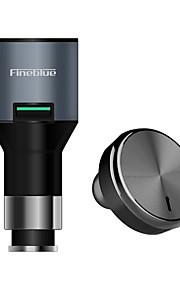 Fineblue F-458 Draadloos Hoofdtelefoons Dynamisch Muovi Aandrijving koptelefoon Met laadbak met microfoon koptelefoon