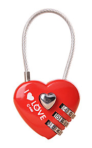 Luggage Lock Coded Lock Padlock 3 Digit Anti-theft Coded lock Luggage Accessory For Luggage Plastic Canvas Metal