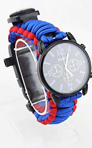 Survival Bracelet Hiking Camping Travel Outdoor Multi Function Nylon