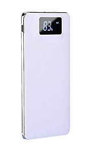 Power Bank External Battery 5V 1.0A 2.0A #A Battery Charger Flashlight with Cable Multi-Output Shockproof Super Slim LCD