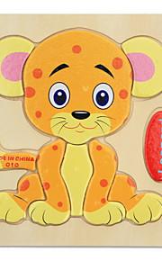 Quebra-Cabeça Quebra-Cabeças de Madeira Brinquedo Educativo Brinquedos Tiger Animais Crianças 1 Peças