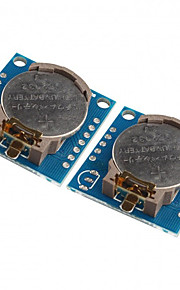 2PCS Tiny DS1307 I2C RTC DS1307 24C32 Real Time Clock Module