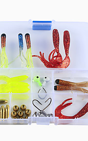 Fishing Accessories Set High Quality Multi-functional Kits Carbon Steel Jigging Sea Fishing Bait Casting Ice Fishing Spinning Freshwater