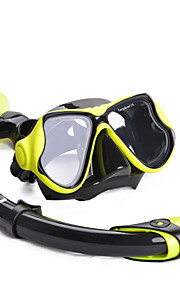 Snorkeling Packages Snorkels Snorkel Set Diving Masks Snorkel Mask Protective Diving / Snorkeling Mixed Materials Silicone Glass Other