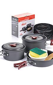 Naturehike Camping Cookware Mess Kit Sets Portable Aluminium for Camping Picnic Camping & Hiking