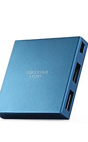 Yuankaida y-x012 hub usb 2.0 480 mbps de alta velocidad 4 puertos con cable de 0.6m