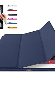 Kılıf Na Apple Mini iPad 4 Mini iPad 3/2/1 iPad 4/3/2 iPad Air 2 iPad Air Magnetyczne Automatyczne uśpienie/wybudzenie Pełne etui Solid