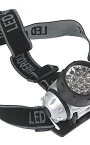 Lanternas de Cabeça Farol Dianteiro LED 600 lm 4.0 Modo LED Emergência Super Leve para Campismo / Escursão / Espeleologismo Uso Diário