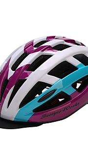 Мотоциклетный шлем Шлем CE Велоспорт 28 Вентиляционные клапаны Ультралегкий (UL) Спорт Молодежный Горные велосипеды Шоссейные велосипеды