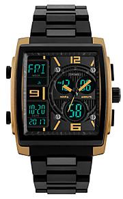 SKMEI Homens Digital Relogio digital Relógio de Pulso Relógio Esportivo Japanês Alarme Calendário Cronógrafo Impermeável LED Noctilucente