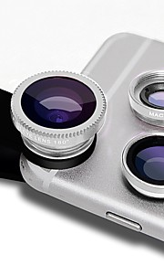 Lentes de câmera de smartphone de arrumação lente grande angular 0.45x lente macro 12.5x lente focal longa de 12x para iphone huawei