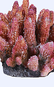 Оформление аквариума Орнаменты Нетоксично и без вкуса Искусственная Милые Пластик