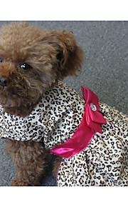 Hond Jurken Hondenkleding Gestreept Polyesteri Kostuum Voor huisdieren Dames Casual/Dagelijks