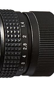m2514 25mm f1.4 lente de filme de televisão e kit adaptador de lente para olympus panasonic mft micro 4/3 m43 câmeras
