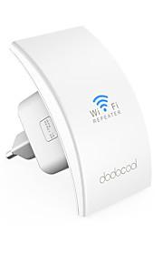 dodocool n300 mocowanie naścienne zasięg wzmacniacza wzmacniacz wzmacniający punkt dostępowy ap / repeater tryb 2.4GHz 300Mbps z
