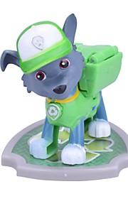 Action- og legetøjsfigurer Legetøj Hunde Dyr Tegnefilm Design Stk.