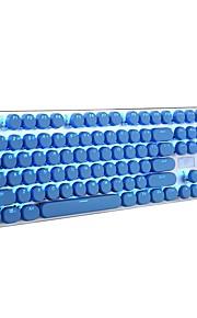 πλήκτρα πληκτρολογίου πληκτρολογίου 104 διπλό πυροβολισμό με οπίσθιο φωτισμό πλήκτρα κλειδιού για όλα τα μηχανικά πληκτρολόγια switch με