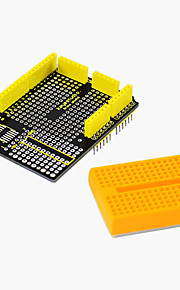 2017 New! Keyestudio Protoshield for Arduino with Mini Breadboard