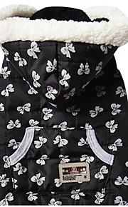 Cane Gilè Abbigliamento per cani Casual Formale Nero Bianco/Nero Nero