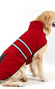 Koira Takit Koiran vaatteet Pidä Lämmin Tukeva Oranssi Tumman sininen Punainen Metsästäjän vihreä