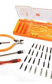 40 en 1 juego de destornilladores de precisión para electrónica kit de extracción de teléfono portátil set herramienta de reparación