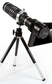 Kit de lentes de câmera profissional para câmera telefônica universal orsda® universal 18x para iphone