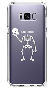 Custodia Per Samsung Galaxy S8 Plus S8 Ultra sottile Transparente Fantasia/disegno Custodia posteriore Teschi Morbido TPU per S8 S8 Plus