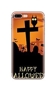 ケース 用途 Apple iPhone X iPhone 8 iPhone 8 Plus パターン バックカバー Halloween ソフト TPU のために iPhone X iPhone 8 Plus iPhone 8 iPhone 7プラス iPhone 7