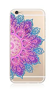 케이스 제품 Apple iPhone X iPhone 8 iPhone 8 Plus 투명 패턴 뒷면 커버 만다라 소프트 TPU 용 iPhone X iPhone 8 Plus iPhone 8 아이폰 7 플러스 아이폰 (7) iPhone 6s Plus