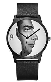 Homens Mulheres Relógio de Moda Relógio de Pulso Único Criativo relógio Japanês Quartzo Cronógrafo Impermeável Couro Legitimo Banda Luxo
