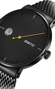 Homens Relógio Casual Relógio de Moda Relógio Elegante Relógio de Pulso Japanês Quartzo Calendário Cronógrafo Impermeável Punk Aço