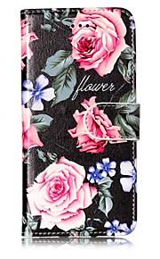 Funda Para Apple iPhone X iPhone 8 Cartera Soporte de Coche con Soporte Cuerpo Entero Flor Dura Cuero Sintético para iPhone X iPhone 8