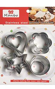 Plätzchen-Werkzeuge Neuheit Für den täglichen Einsatz Für Kochutensilien Stahl Künstlerisch