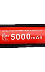 KLARUS LiR26650 batteri Bærbar Professionel Nemt at bære Høj kvalitet Letvægt for 26650 Li-ion