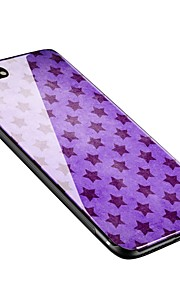 Capinha Para Apple iPhone X iPhone 8 Plus Estampada Capa Traseira Azulejo Macia Vidro Temperado para iPhone X iPhone 8 Plus iPhone 8