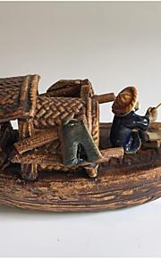 Akvariedekorationer Ornament Keramisk