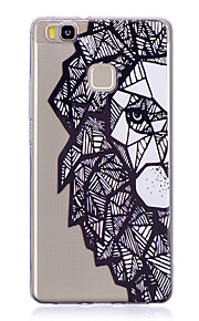 Case For Huawei P9 Lite P10 Transparent Back Cover Flower Skull Soft TPU for Huawei P10 Plus Huawei P10 Lite Huawei P10 Huawei P9 Huawei