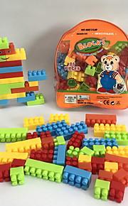 GDS-set Byggklossar Leksaker tecknad Shaped Människor Familj Tecknade leksaker Tecknad design GDS (Gör det själv) 86 Bitar