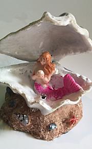 Akvariedekorationer Ornament Resin