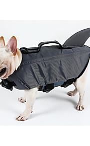 Cachorro Colete Salva-Vidas Roupas para Cães Espuma EPE Primavera/Outono Verão Casual / desportivo Sólido Cinzento Amarelo Ocasiões