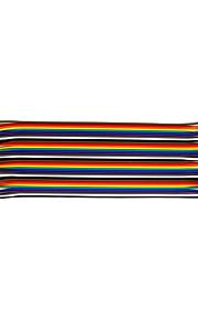 Male To Male 20CM / 40P / 2.54 / 10 Copper Clad Aluminum Line 24 BL