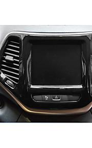 Automotivo Coberturas de pilha central Gadgets de Interior Personalizáveis para Carros Para Jeep Todos os Anos Cherokee Plástico