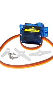 1PCS Keyestudio MINI 9G Servo Motor 23*12.2*29mm Blue For Arduino Robot