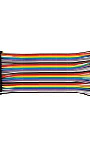 Male To Male 15CM / 40P / 2.54 / 10 Copper Clad Aluminum Line 24 BL